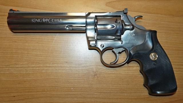 Votre première arme de poing Colt-k10