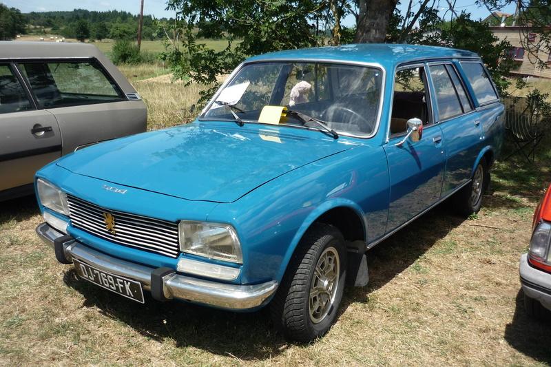 Rassemblement de voitures anciennes à Frugières le Pin  (43) P1110420