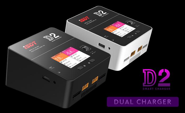 [NEW] Chargeur D2 Dual 200W 2x10A par ISDT Smart balance charger D2_isd10
