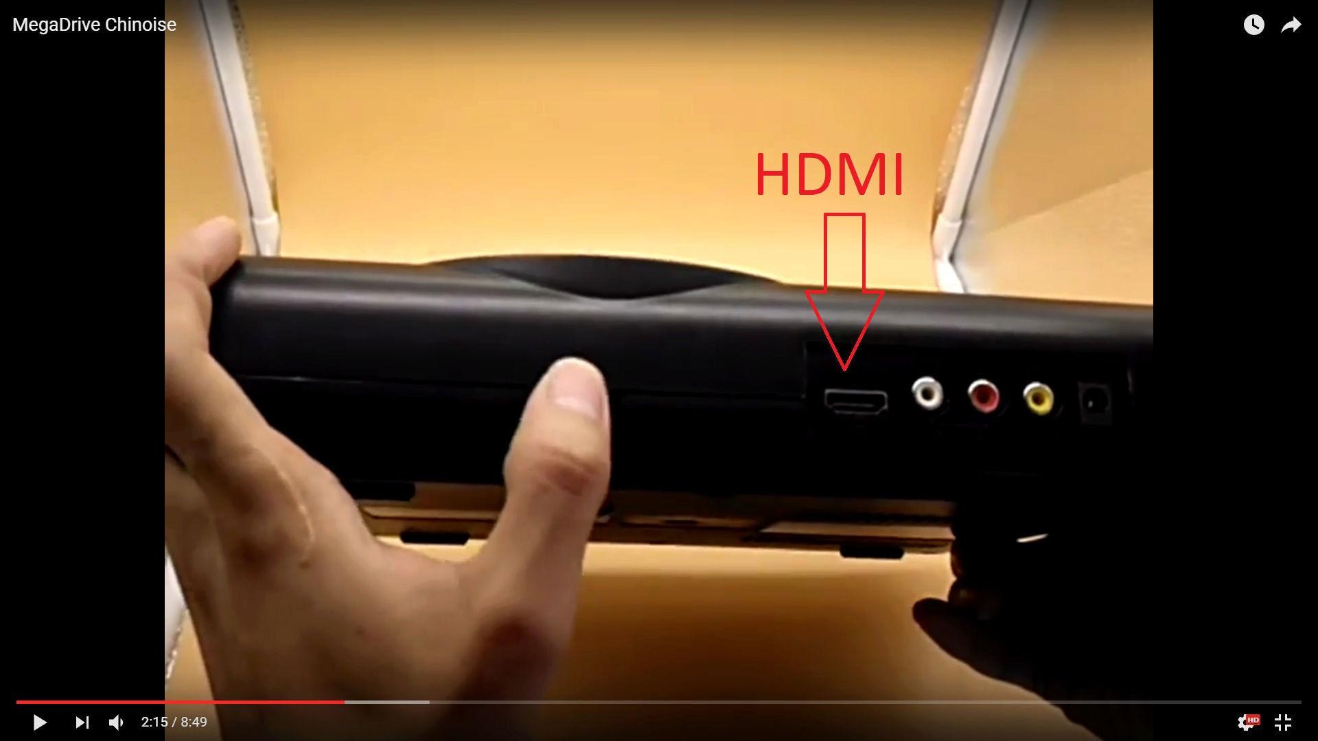 Nouvelle Megadrive HDMI chinoise - Page 2 Hdmi10