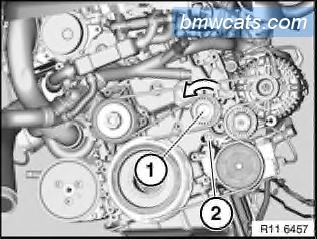 [ BMW E90 320d M47N2 an 2007 ] Remplacement pompe a eau 111