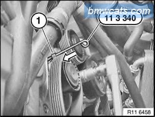 [ BMW E90 320d M47N2 an 2007 ] Remplacement pompe a eau 211