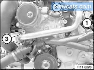 [ BMW E90 320d M47N2 an 2007 ] Remplacement pompe a eau 411