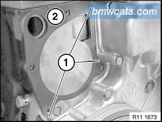 [ BMW E90 320d M47N2 an 2007 ] Remplacement pompe a eau 711
