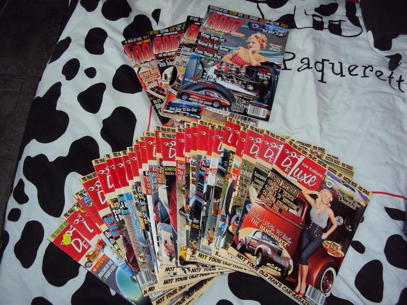 Vends lot de magazines US Car Kulture Deluxe Dsc02810