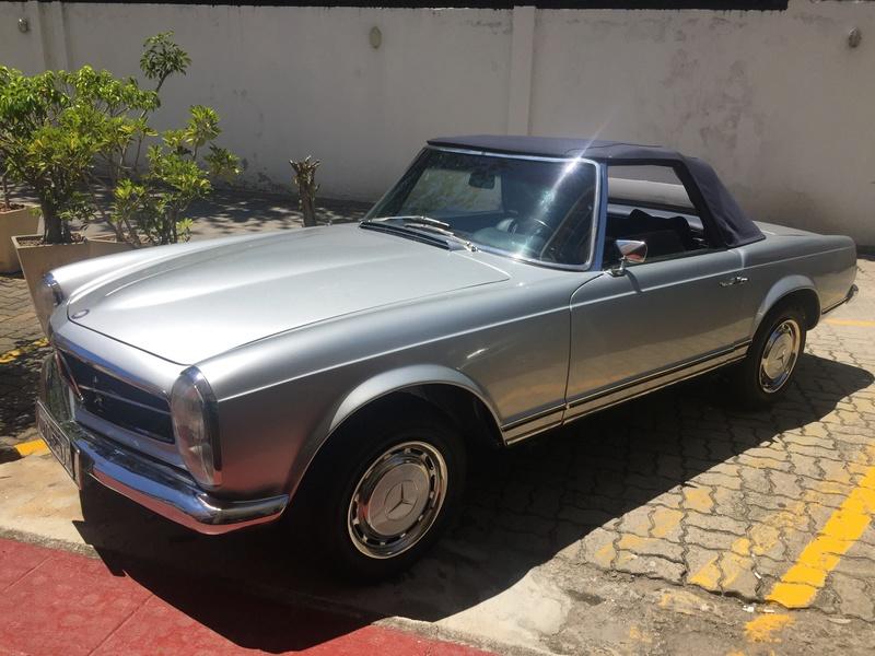 Mercedes Pagoda R113. 1969.  R$315000,00 Img_3414