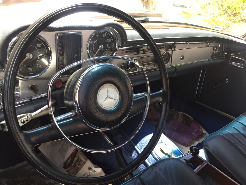 Mercedes Pagoda R113. 1969.  R$315000,00 Img_3417