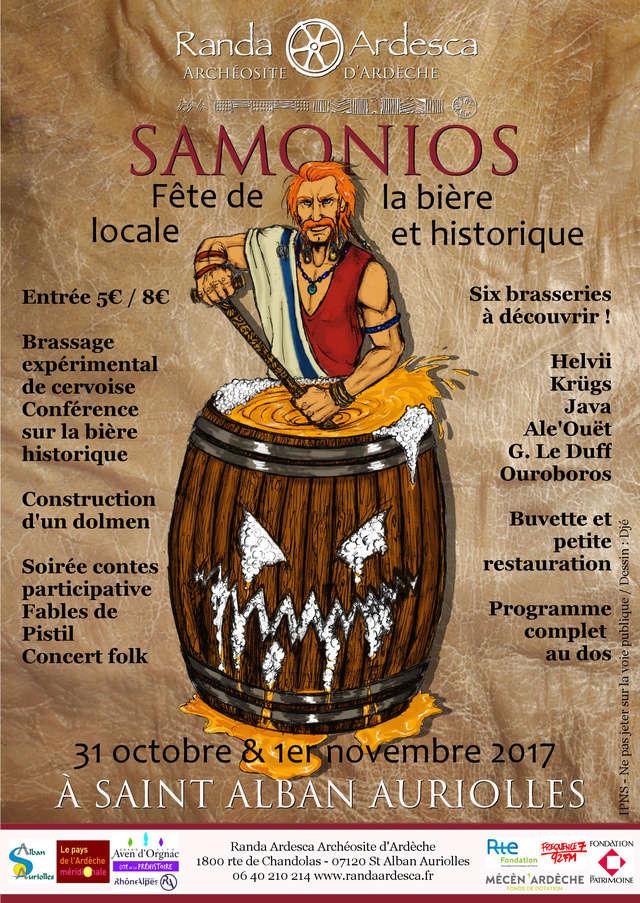 SAMONIOS - Fête de la bière locale & historique.  Tracte10