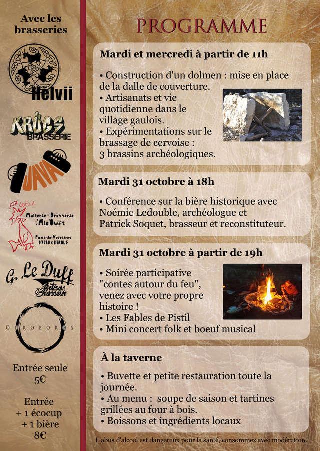 SAMONIOS - Fête de la bière locale & historique.  Tracte12