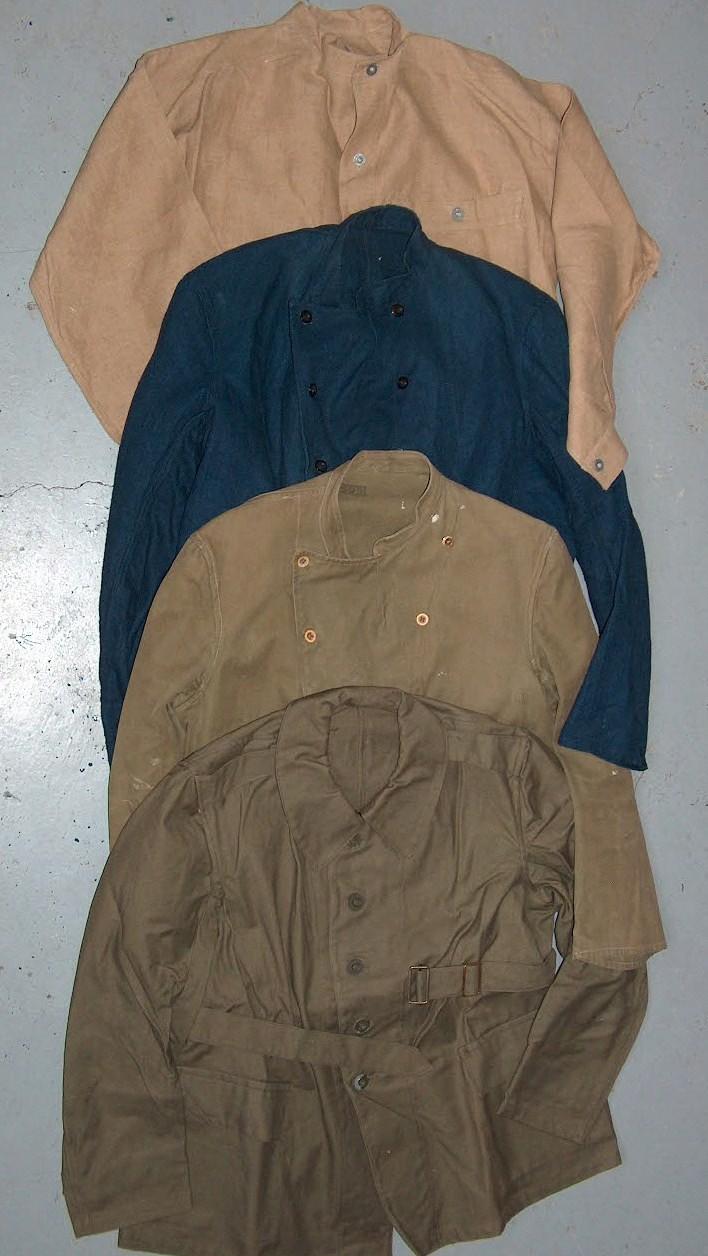Bourgeron ou tenue de corvée. Hpim4810