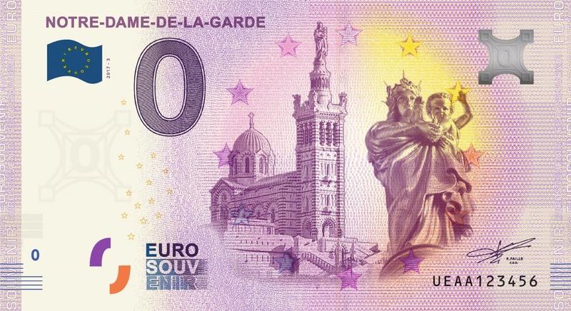 Billets 0 € Souvenirs  [SUD = 62] A_aa3_10