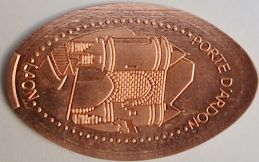Elongated-Coin Laon1011