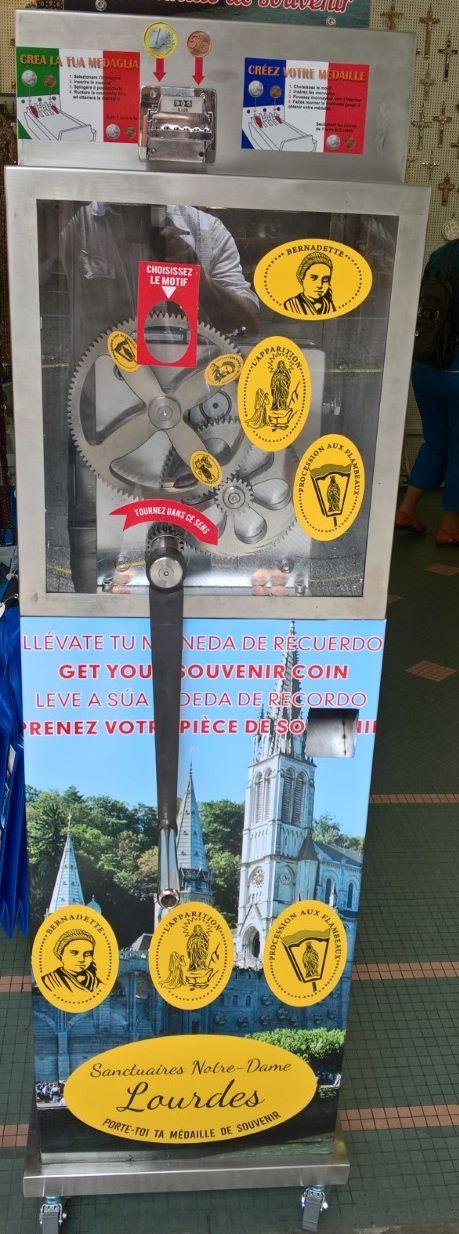 Una moneda un recuerdo (fournisseur espagnol)  Lourde10