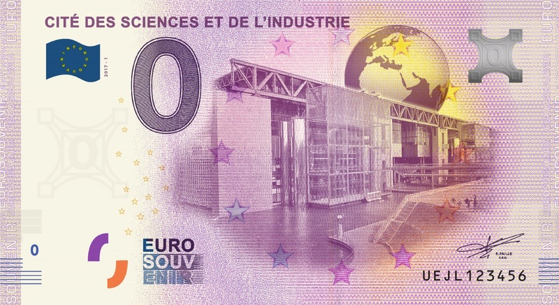 Billets 0 € Souvenirs  [Paris = 81] Thumbn10