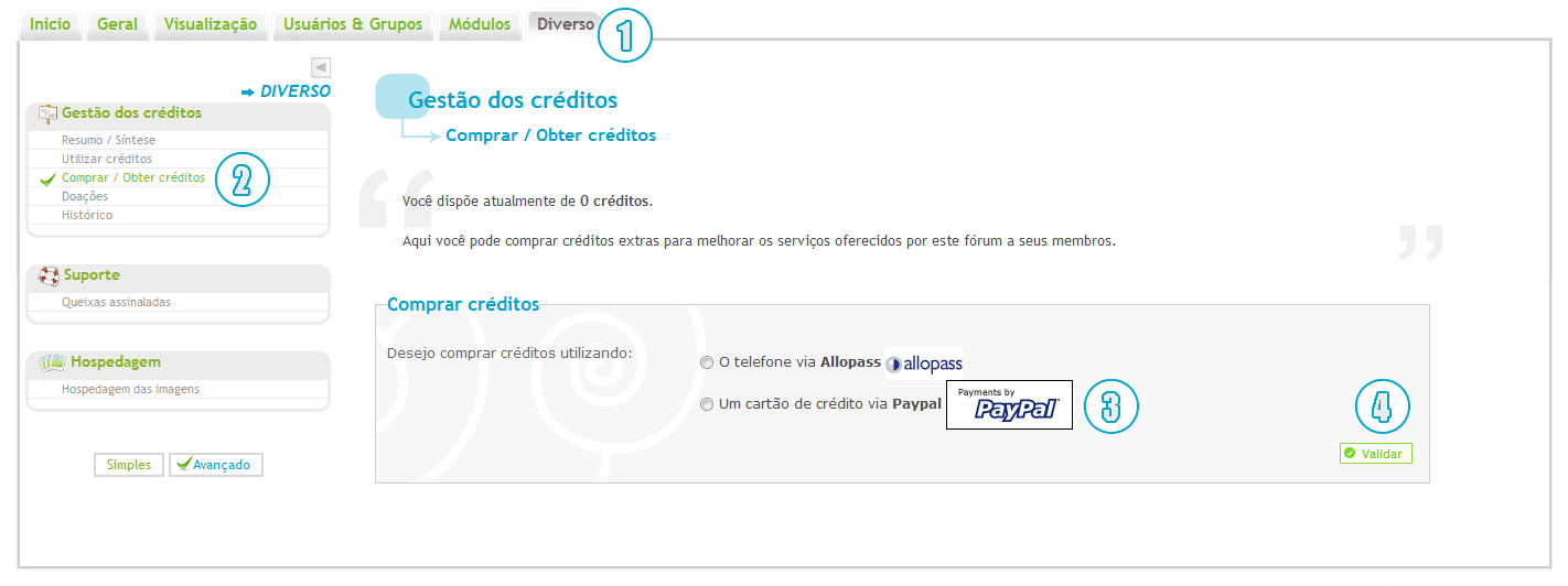 [FAQ] Gestão dos Créditos Untitl35