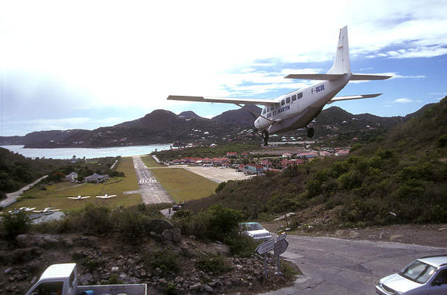 L'atterrissage à Juliana XXM - Sint Marteen  vaut son pesant d'or.. Saint-10