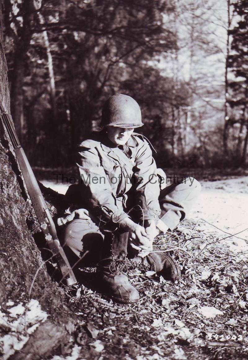 """100th Infantry Division """"Century"""" Shoepa10"""