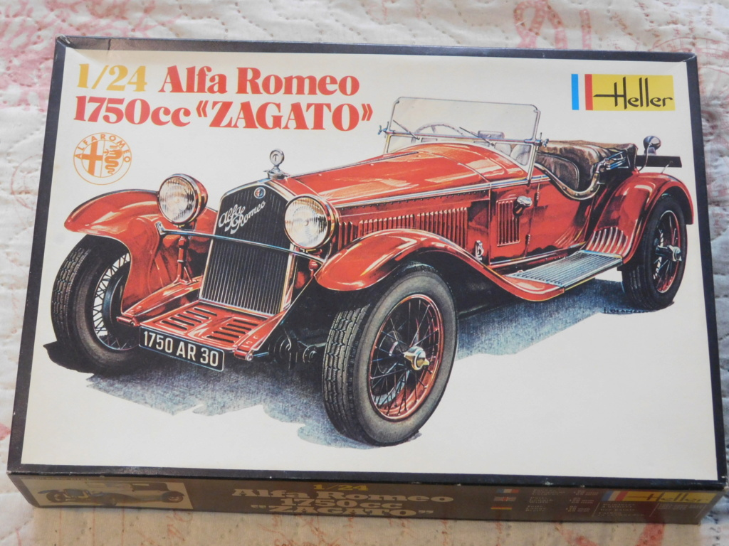 ALFA ROMEO 1750 ZAGATO 1/24ème Réf 715 Alfa_r11