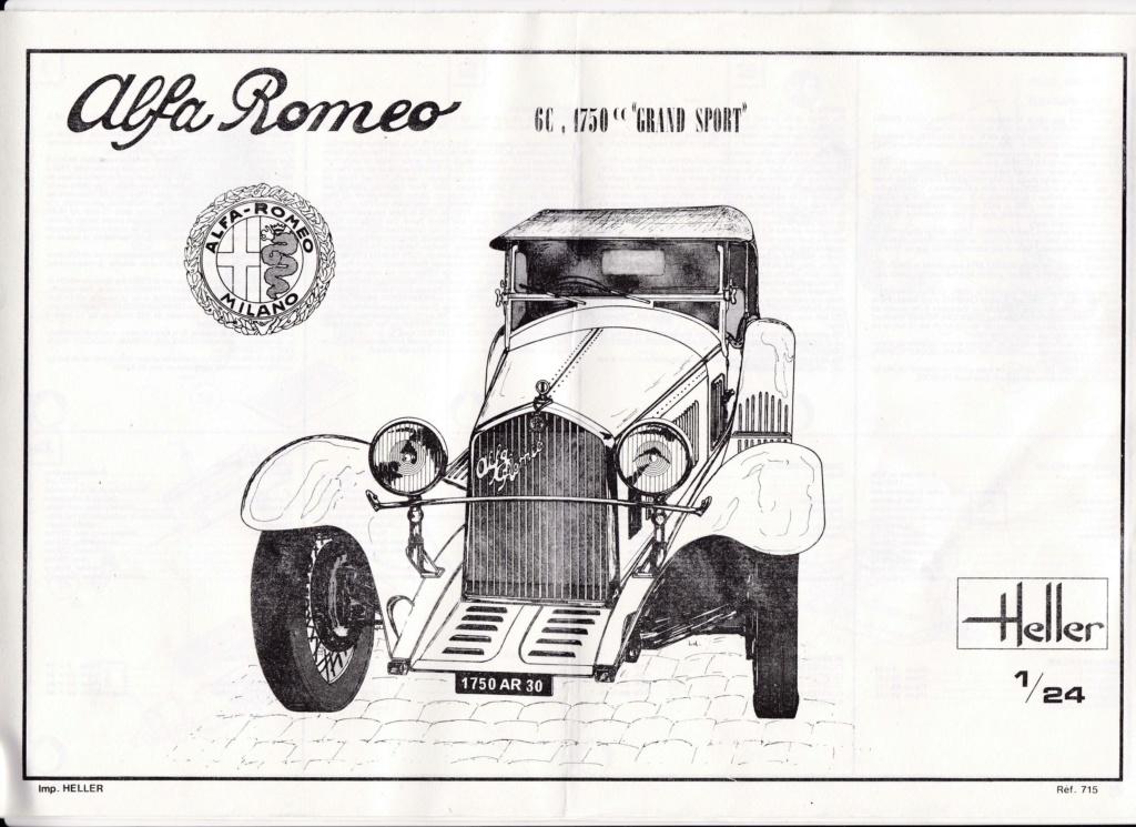 ALFA ROMEO 1750 ZAGATO 1/24ème Réf 715 Alfa_r15