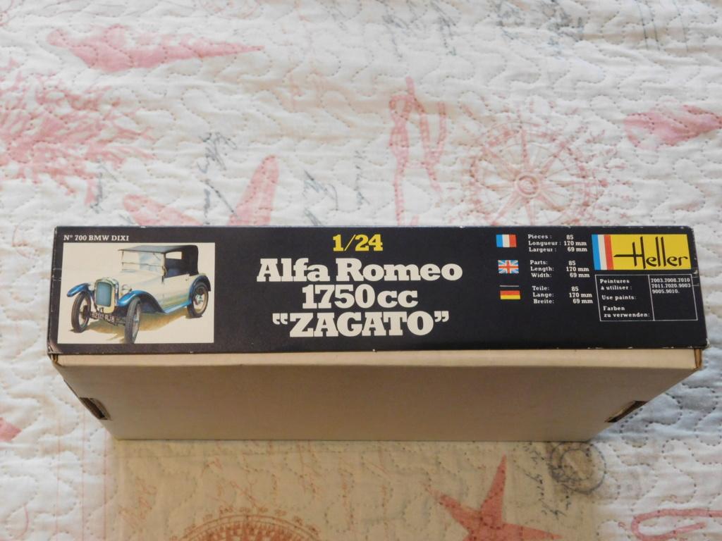 ALFA ROMEO 1750 ZAGATO 1/24ème Réf 715 Alfa_r25