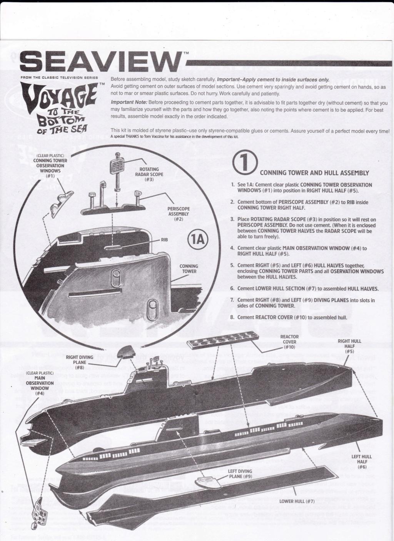 [POLAR-LIGHTS] Sous-marin SEAVIEW de la série VOYAGE AU FOND DES MERS 1/350ème Réf 5099 Img_2037