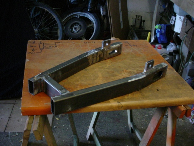 Fabrication d\'un BO 610