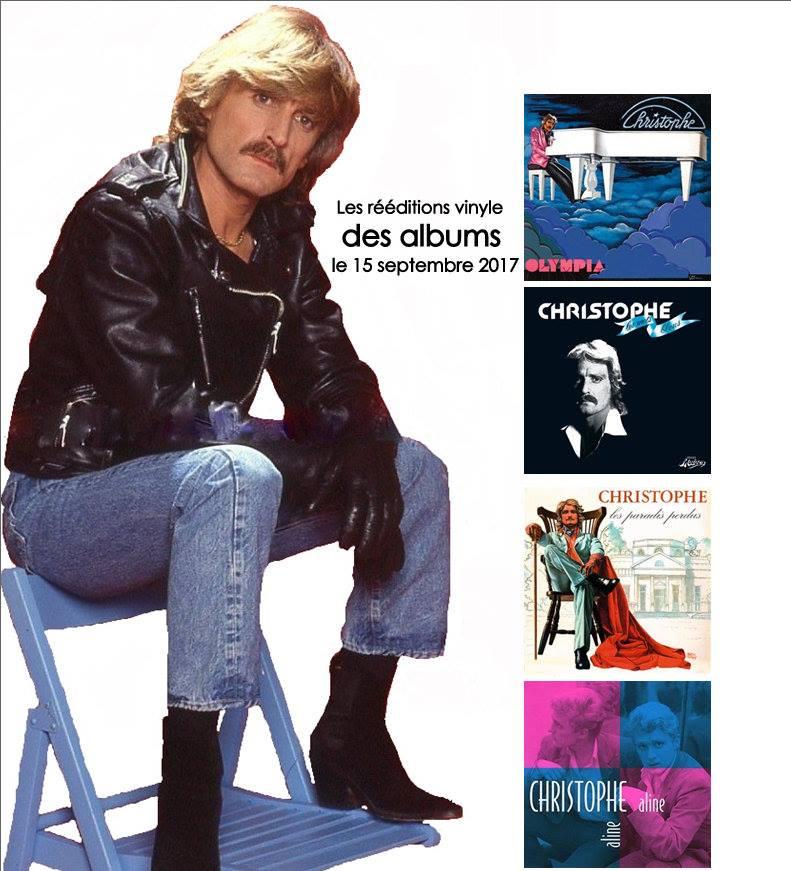 """FNAC: Sortie des rééditions vinyle des albums """"Aline"""", """"Olympia""""  """"Les mots bleus"""" et """"Les paradis perdus"""" 21752310"""