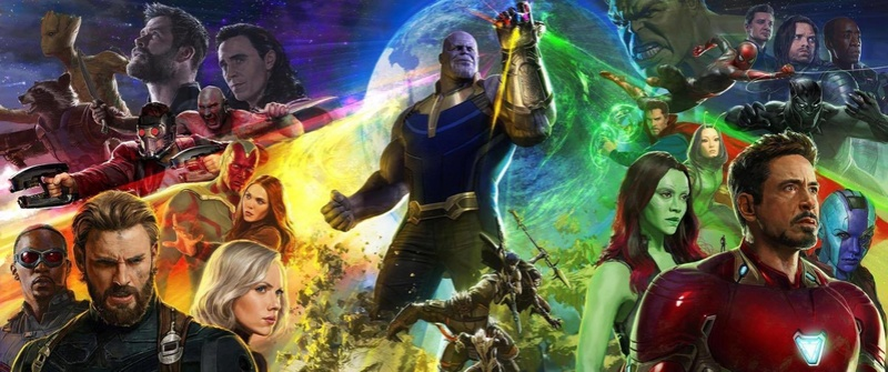 Avengers : Infinity War - Part 1 & 2 20232910