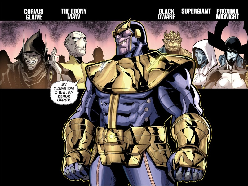 Avengers : Infinity War - Part 1 & 2 Thanos10