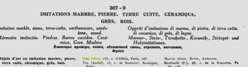 """Citti - Buste de femme en plâtre """"Margueritte"""" Citti Frères Captu169"""