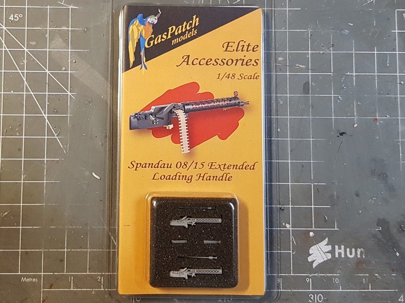 [Gaspatch Models - 1/48] Spandau 08/15 Extended loading handle Mg0111