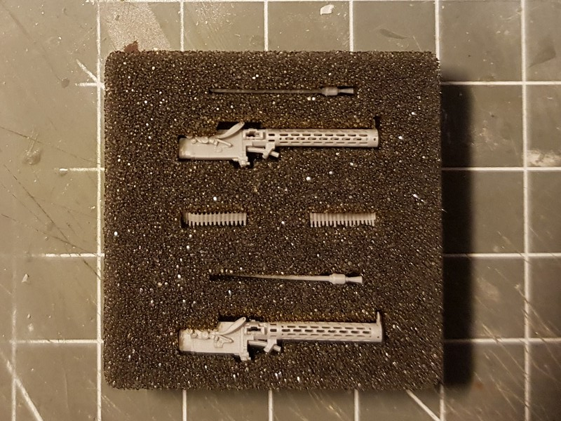 [Gaspatch Models - 1/48] Spandau 08/15 Extended loading handle Mg0211
