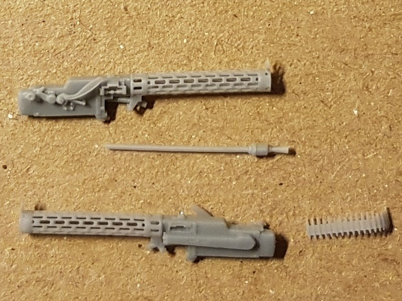 [Gaspatch Models - 1/48] Spandau 08/15 Extended loading handle Mg0310