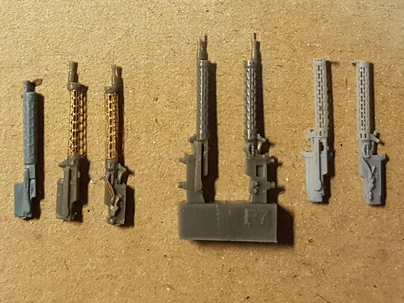 [Gaspatch Models - 1/48] Spandau 08/15 Extended loading handle Mg0511