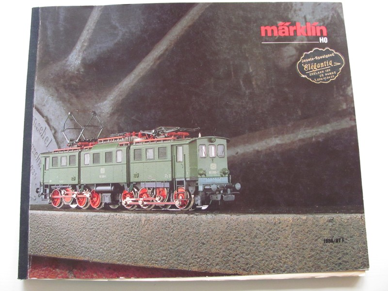 [Märklin] Catalogue 1986-1987 Img_0110