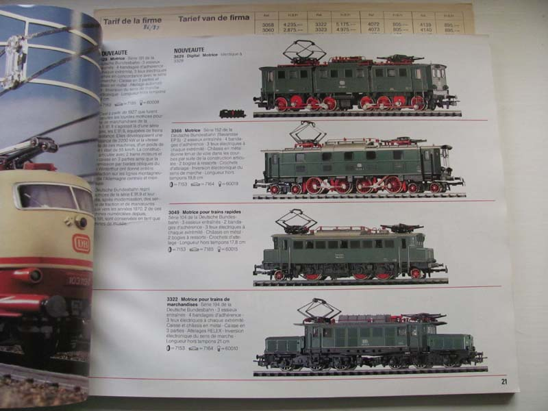 [Märklin] Catalogue 1986-1987 Img_0133