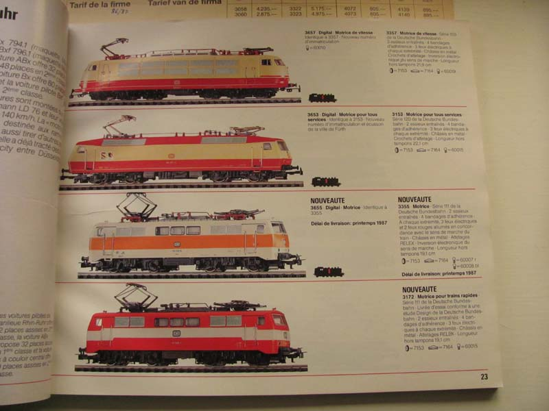 [Märklin] Catalogue 1986-1987 Img_0135