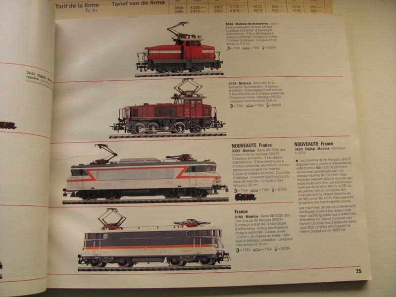 [Märklin] Catalogue 1986-1987 Img_0137