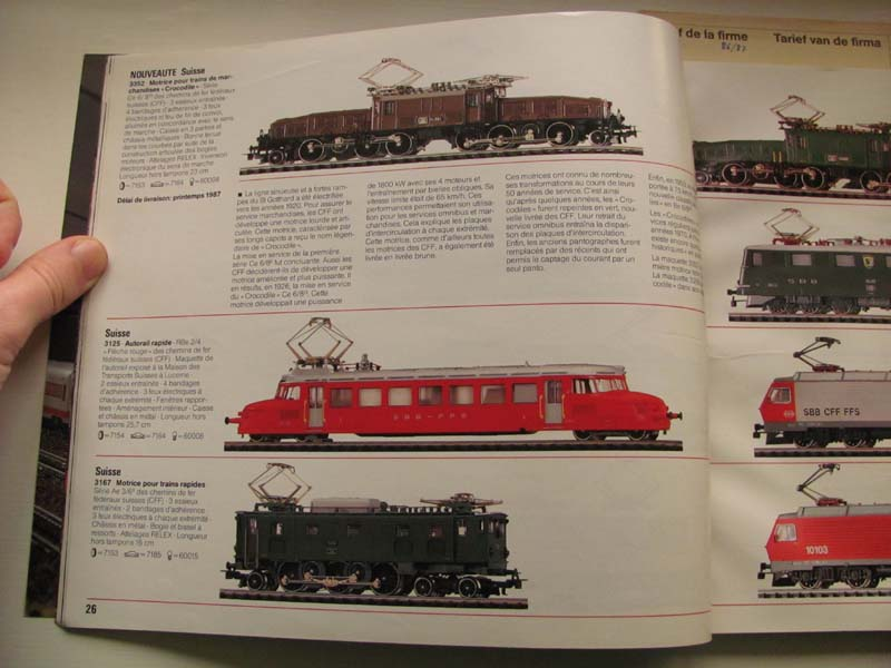 [Märklin] Catalogue 1986-1987 Img_0138