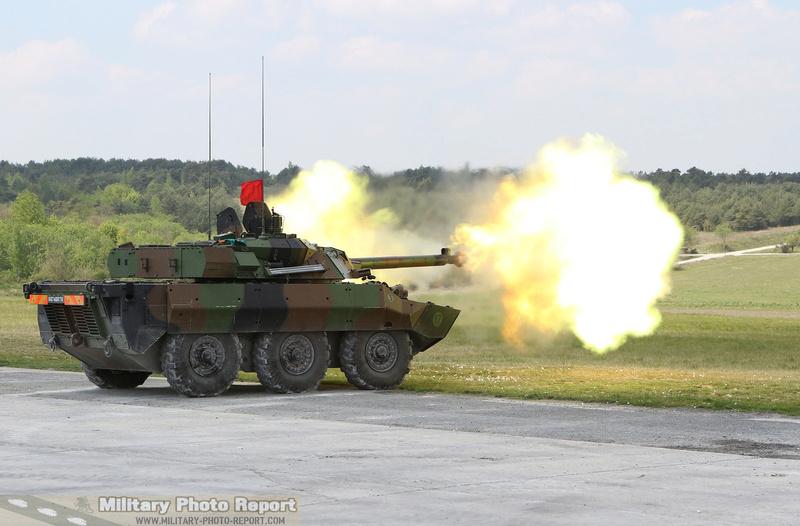 Reportage photo:Exercice de tirs AMX-10 RCR et VBL (12.7 et 7.62) 37026910