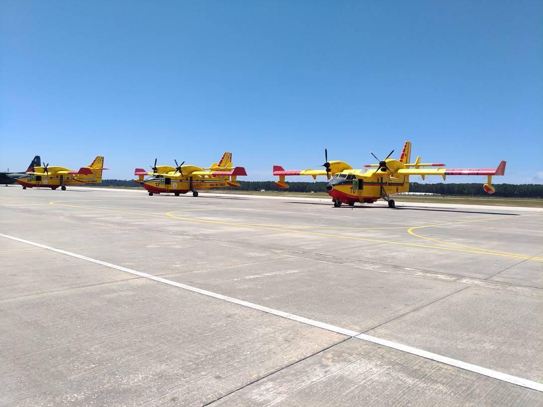 Feu au Portugal 2017 - CL-415 19428710