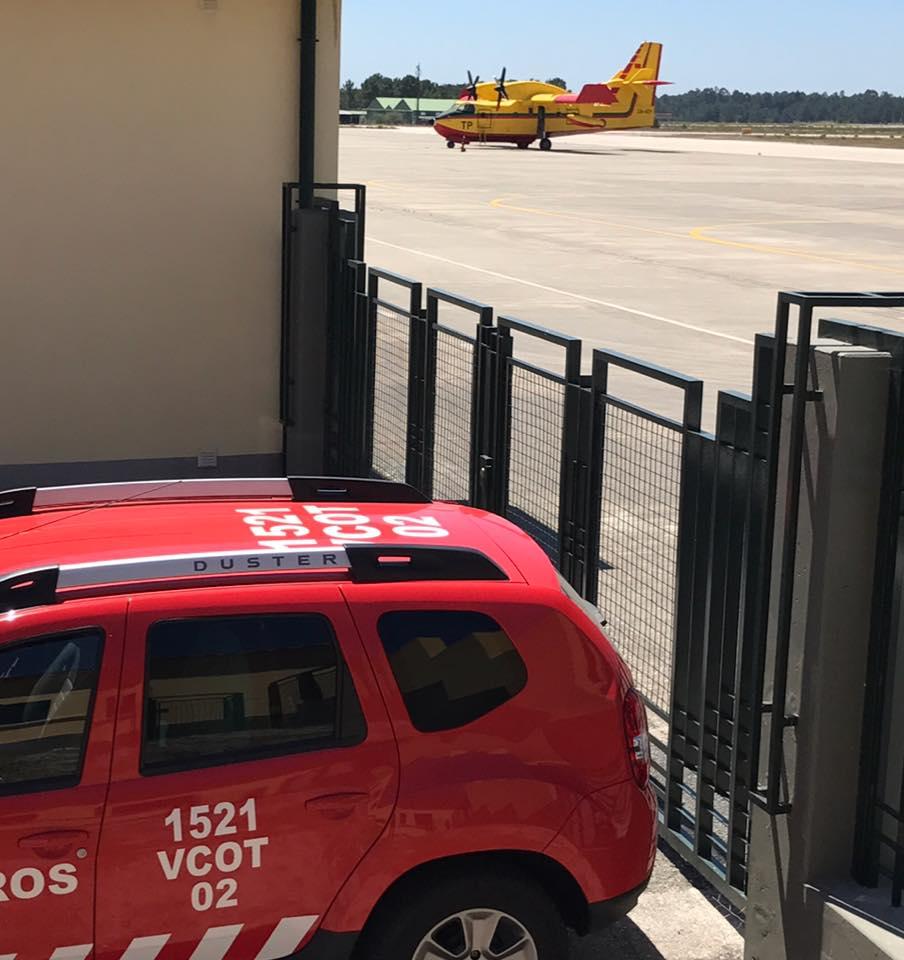 Feu au Portugal 2017 - CL-415 20604410