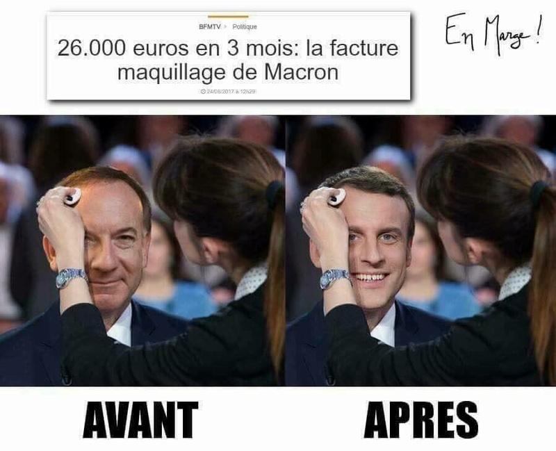 Bonsoir à toutes et tous Macron80