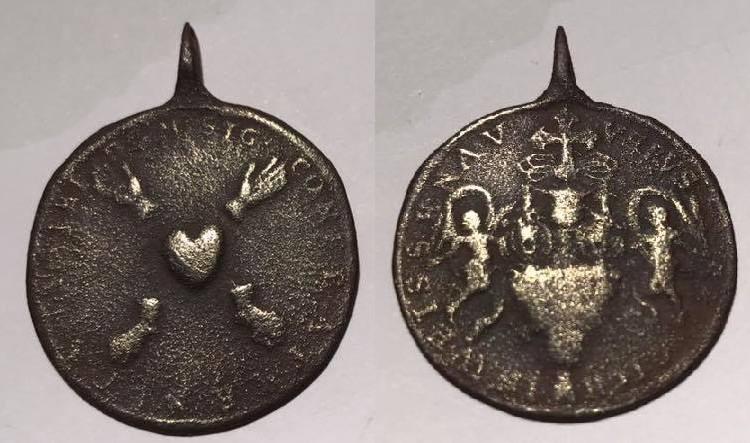 Cinco Llagas de Cristo / Relicario Santa  Sangre de Weissenau, S. XVIII (R.M. S.XVIII-C142) 21462410