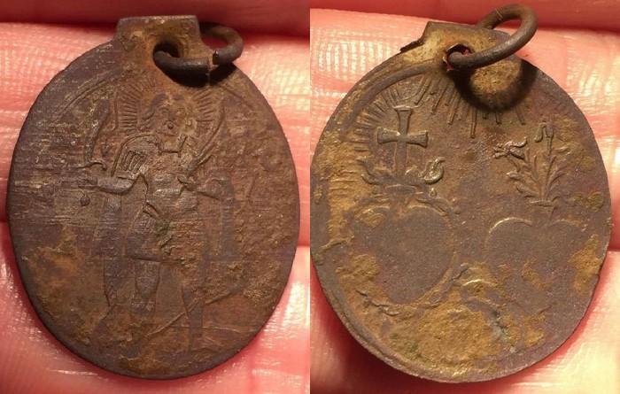 San Landelino Ettenhein - sagrados corazones Jesus Maria XVII-XVIII ? Xxxxxx10