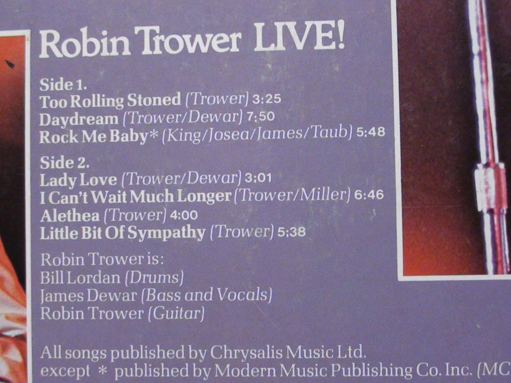 ROBIN TROWER LIVE Dsc00525