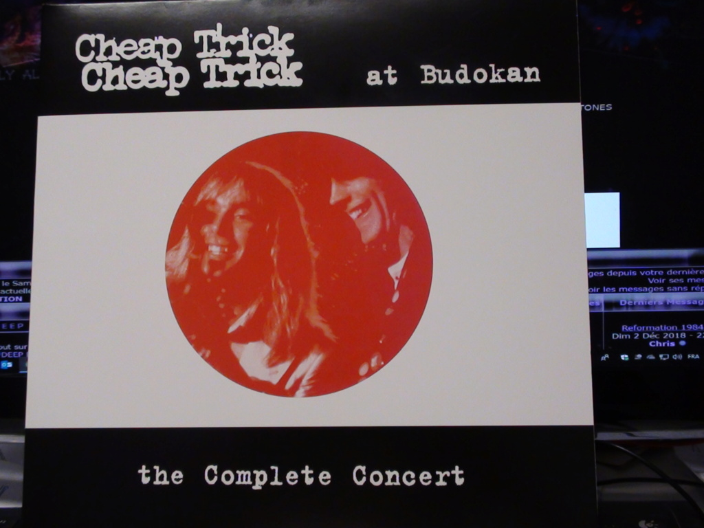 CHEAP TRICK AT BUDOKAN THE COMPLETE CONCERT Dsc00667