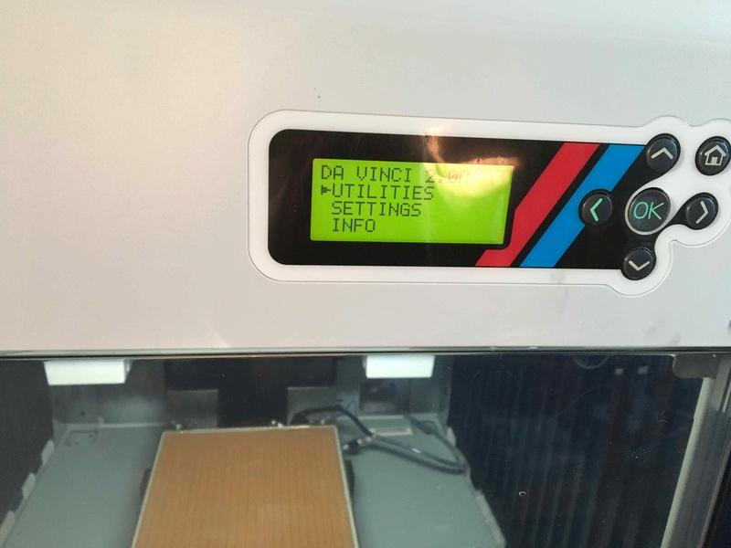 Imprimante 3D xzy Da Vinci 2.0 Bcadra10