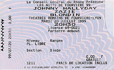 Villes de tournées: précisions. - Page 2 19990710
