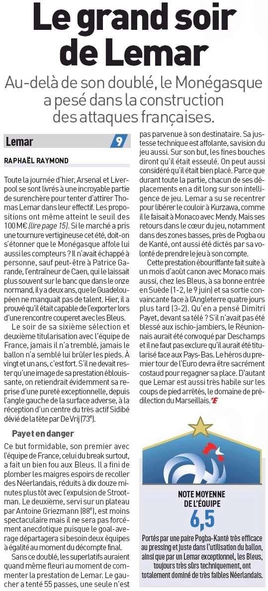 [Actu/Débat] L'Equipe de France  - Page 38 Lemar_10